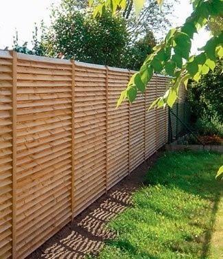 Panneaux de jardin en pin traité