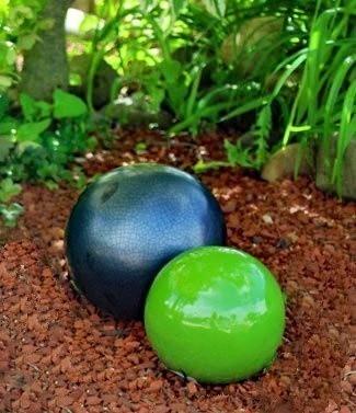 Am nagement d coration pour jardins et terrasses dijon for Boule ceramique decoration jardin terrasse maison