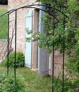Structure métallique jardin